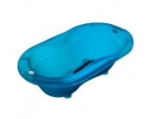 Rotho Babydesign Badewanne TOP translucent blue - blau