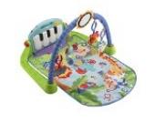 Fisher-Price BMH49 Rainforest Piano-Gym Spielbogen mit Musik und Licht inkl. Spielzeug grün Babyerstausstattung, ab 0 Monaten