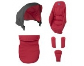Chicco Color Pack für Sportwagen Urban, red wawe