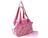 GMMH 2 tlg Baby Farbe rosa Wickeltasche Pflegetasche Windeltasche Babytasche Reise Farbauswahl