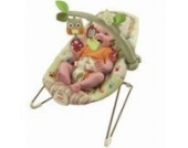 Fisher-Price - Cozy Cocoon Babywippe Sitz Holzig Freunde