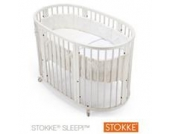Sleepi™ Babybett mit Matratze Sleepi 120 cm (6 - 36 Monate)