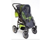 Best For Kids Universal-Insektenschutz passend für Kinderwagen, Sportwagen, Jogger und Reisebett, schwarz