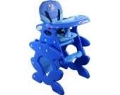 Babyhochstuhl Kinderhochstuhl ARTI Betty J-D008 Little Elephant Blue / Blau Baby Kinder Hochstuhl Kombihochstuhl Tisch und Stuhl