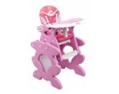 Babyhochstuhl Kinderhochstuhl ARTI Betty J-D008 Pink Ala Baby Kinder Hochstuhl Kombihochstuhl Tisch und Stuhl