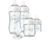 Philips AVENT - NATURAL GLASS KIT - Kit Newborn Flaschen Glas - Farblose