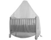 Baby Dan 3320-01-85 Moskitonetz für Bett, weiss