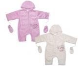 Liliput Baby-Overall mit Handschuhen Gr. 68 (Rosa) [Babykleidung]