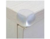 8 x Rundkantenschutz Eckenschutz für Glastische oder Regale mit 3M Sticker Baby Safe von Boolavard ® TM