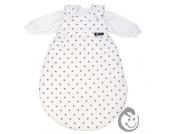 Alvi Baby-Mäxchen® Dots weiß 74/80