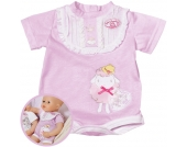 Zapf Creation Baby Annabell Kleid (Rosa-Mint) [Kinderspielzeug]