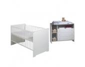Schardt Sparset Eco Stripe - weiß - Gr.70x140 cm