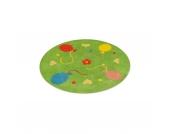 Kinderteppich Ballon, rund 130 cm