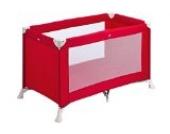 Safety 1st Soft Dreams, praktisches und kompaktes Reisebett mit Transporttasche, rot