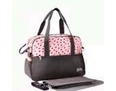 Paonies Babytasche Set Pflegetasche Tragetasche Wickeltasche Windeltasche Kinder Baby Tasche (Pink)