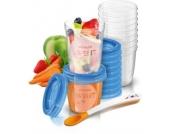 Aufbewahrungsbecher Babynahrung SCF721/20, 180 ml+240 ml Kinder