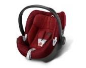 Babyschale Gr. 0+, 0-13 kg, ab Geburt bis ca. 18 Monate Aton Q Plus Cybex Hot & Spicy - red