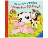 RAVENSBURGER Mein erstes großes Bauernhof-Fühlbuch