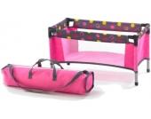 Bayer Chic 2000 Puppenreisebett mit Tasche (Funny Pink) [Kinderspielzeug]