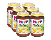 HIPP Bio Milchbrei Grießbrei Früchte 6 x 190g