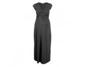 Queen Mum Umstands Kleid dark grey - grau - Damen