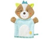 Fehn 071412 Waschhandschuh Fuchs/Waschlappen mit Tiermotiv für fröhlichen Badespaß, für Babys und Kinder ab 0+ Monaten