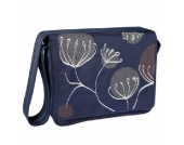 LÄSSIG Wickeltasche Casual Messenger Bag Blowball navy - blau