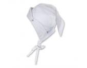 STERNTALER Kopftuch mit Sternchen WEISS Gr��e 43-49