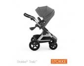 STOKKE® Gestell und Sitz Trailz™ Black Melange