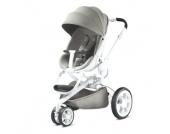 Quinny Kinderwagen Moodd Grey gravel - weißes Gestell - grau