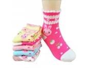 Luckystaryuan ® Set von 5 Mädchen Socken Frühling Herbst Schöne Socke Geschenk für Tochter (6-8years old, Bild 5)