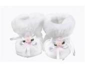S��e Winter Babyschuhe Taufschuhe mit Organza Gr��e 17