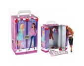 klein Barbie Schrankkoffer