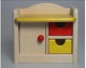 Bodo Hennig Puppenhaus Wickeltisch Bambino