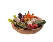 Bodo Hennig Puppenhaus Miniatur Gemüseschale