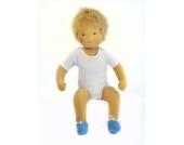 Heidi Hilscher Babypuppe blond Waldorf Art