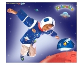 KIDORABLE Gummistiefel ASTRONAUT Space hero Gr��e 20-25