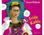 Kunst-Malbuch Frida Kahlo