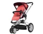 Quinny 60304930 - Buzz 3, praktisches Travelsystem inklusive Einkaufskorb, Sonnenverdeck, Regenverdeck und Adapter für die Babyschale, Pink Emily