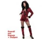 Red Cat Overall mit Kapuze + Stulpen Gr.42