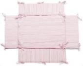 Laufgittereinlage | Nestchen | geeignet für Laufgitter mit der Größe: 100x75 cm | Farbwahl (rosa/weiss)