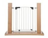 Original IMPAG® Treppen und Tür-Schutzgitter Swing | 62-212 cm| Automatik-Tür | 90° Feststell-Funktion | Einhandbedienung | Öffnet in beide Richtungen | sicherheitsgeprüft 1930:2011