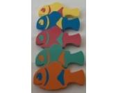 Auftriebshilfe Schwimmspass Clownfish 400x220x38mm ROT mit GRÜNEN EinsätzenNEU&Original von Babysplash