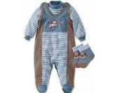 Sterntaler Sommer Baby Strampler-Set Hanno 71201 Farbe 352 Größe 56 - Modell 2012