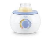 NUK 10256258 Babykostwärmer Thermo Light, erwärmt flüssige oder feste Nahrung schonend und gleichmäßig, einfach und sicher wie nie ohne Wasser