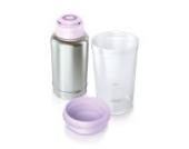Philips Avent SCF256/00 Thermo-Flaschenwärmer für unterwesgs, edelstahl/neutral