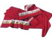 Kinderbutt Handtuch Frottier rot Größe 50x100 cm