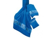 Kinderbutt Frottier-Set 3-tlg. Frottier blau Größe 70x110 cm + 50x70 cm + 15x21 cm
