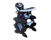 Babyhochstuhl Kinderhochstuhl ARTI Betty J-D008 Dark Blue Panda - Dunkel Blau Baby Kinder Hochstuhl Kombihochstuhl Tisch und Stuhl