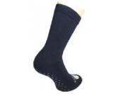 Weri Spezials Schoene Damensocken mit ABS Anti-Rutschbeschichtung in Marine, Gr. 35-38, Gibt sicheren Halt, besonders bei modernen Fussboeden und Treppen.Frotee Sohle.